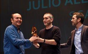 Javier Félix Echániz y Asier Guerricaechebarría por 'Sorbeltz', Premio SGAE de Guion 'Julio Alejandro'