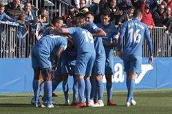 (Crónica) El Fuenlabrada, en ascenso directo tras un nuevo empate del Almería de Guti