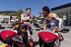 Lorenzo y Crivillé explican su llegada al Repsol Honda en su 25º aniversario