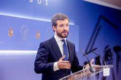Casado afea a Cs sus críticas a España Suma y pide