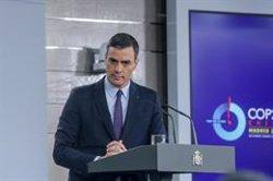 Sánchez convocará el lunes a Casado y a Arrimadas y llamará a todos los presidentes autonómicos, incluido Torra