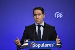 PP asegura que Sánchez ha demostrado que