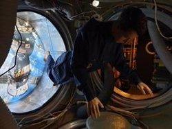 El Museo de la Ciencia de Cataluña expone una réplica a escala real de la estación espacial MIR