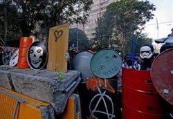 Un centenar de heridos tras la manifestación del viernes en Santiago de Chile