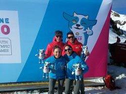 El equipo español logra el bronce en relevos mixtos de esquí de montaña en los Juegos Olímpicos de la Juventud