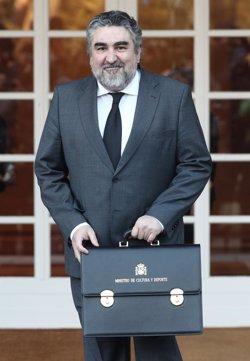 El ministro de Cultura acudirá a los Premis Gaudí, el primero del nuevo Gobierno en visitar Cataluña