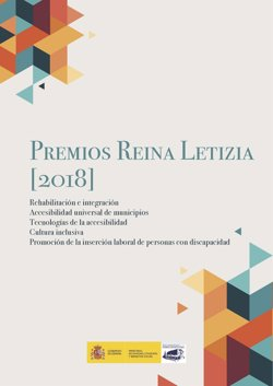El documento 'Premios Reina Letizia' recopila las memorias de los proyectos ganadores de los galardones en 2018