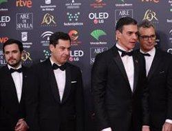 Juanma Moreno anima a la Academia de Cine