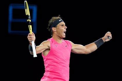 Nadal eleva su tenis para deshacerse de un gran Kyrgios y meterse en cuartos en Melbourne