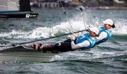 Echegoyen-Barceló y Botín-López Marra afrontarán en posiciones de podio las Medal Race de los Mundiales