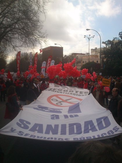 La Marea Blanca recorrerá este domingo Madrid para exigir la mejora de los servicios de Urgencias y Emergencias