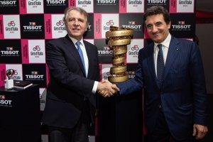 Tissot añade el Giro al Tour y Vuelta como cronometrador oficial