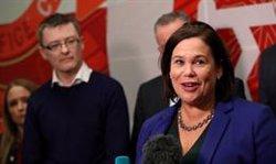 El Sinn Féin descarta un acuerdo con Fine Gael o Fianna Fáil y apuesta por un gobierno de izquierda en minoría