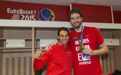 Rafa Nadal y Pau Gasol se unen a Cruz Roja para intentar recaudar 11 millones entre los deportistas españoles
