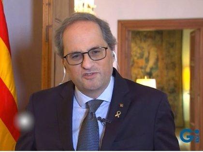 Torra defiende que Catalunya fabrique lo necesario ante un mercado