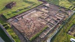 Una excavación permite recuperar nuevos restos del campamento militar romano de Ciadella, situado en Sobrado (A Coruña)