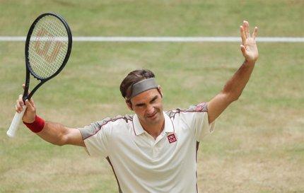 """Federer: """"No estoy entrenando porque, para ser honesto, no veo una razón para hacerlo"""""""