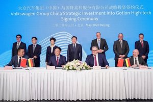 Volkswagen invertirá 2.000 millones para impulsar el desarrollo de la movilidad eléctrica en China