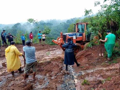 Al menos once muertos por las lluvias torrenciales en El Salvador