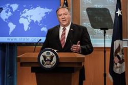 Pompeo asegura que China intenta aprovechar políticamente la muerte de George Floyd