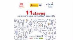 Fundación ONCE, CERMI y Real Patronato sobre Discapacidad lanzan una guía para la 'nueva normalidad' accesible