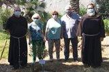 Plantan un olivo bendecido en memoria del 500 aniversario del beato valenciano Nicolás Facto