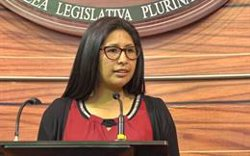 La presidenta del Senado de Bolivia anuncia que ha dado positivo en la prueba de coronavirus