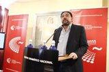 Antonio Onetti tras la Asamblea General de la SGAE: