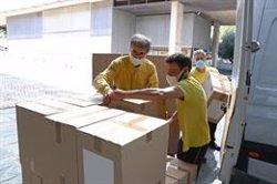 Castilla-La Mancha realiza esta semana un nuevo envío a centros sanitarios con más de 776.000 artículos de protección