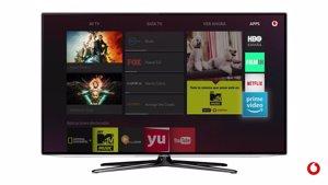El consumo de contenidos de pago gana peso frente a la televisión en abierto en Vodafone TV