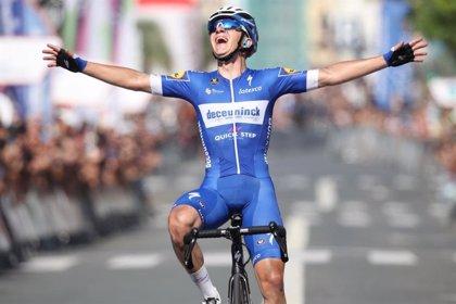 Evenepoel gana el Tour de Polonia tras el último sprint de Ballerini