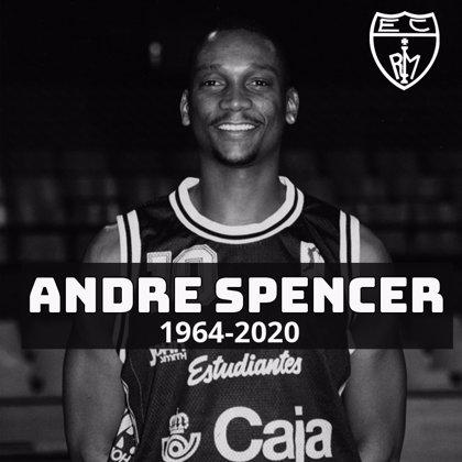 Fallece el exjugador de Estudiantes Andre Spencer a los 56 años