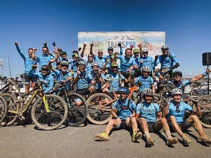 Everesting Challenge, el nuevo desafío de ciclistascon discapacidad intelectual del equipo Tressis A LA PAR