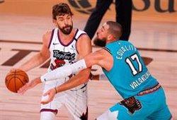 Los Raptors ganan a los Sixers y se medirán a los Nets en los 'playoffs'