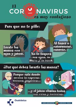 Los positivos crecen en Euskadi, con 459 casos en un día, y fallecen 46 personas del 7 al 13 de septiembre