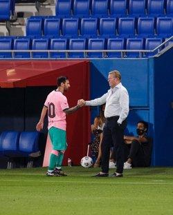 El Barça gana al Girona (3-1) con doblete de Messi como 'falso 9'