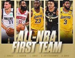Luka Doncic cierran su gran año entrando en el mejor quinteto de la temporada de la NBA