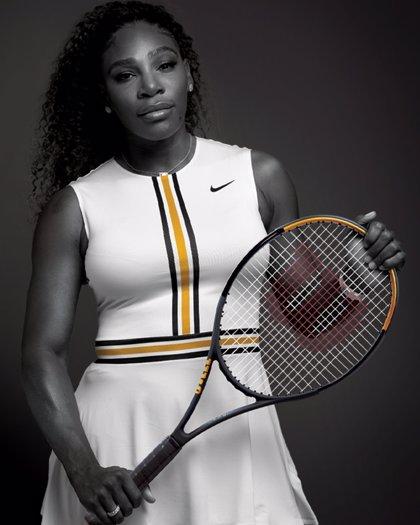 Serena Williams estrena la raqueta Blade SW102 Autograph de Wilson