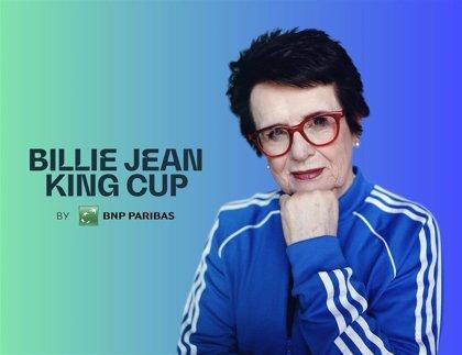 La Copa Federación pasa a llamarse Copa Billie Jean King en homenaje a la exjugadora estadunidense
