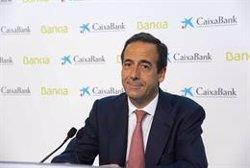 Gortázar achaca a un ajuste por la ecuación de canje parte de la caída hoy en Bolsa de CaixaBank y Bankia