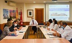 Epidemiólogos franceses visitan el Hospital Gregorio Marañónpara conocer su actividad frente a la Covid-19