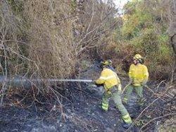 Controlado el incendio forestal declarado en un paraje de Algeciras
