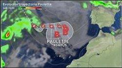 El que fuera huracán 'Paulette' se reactiva y podría llevar fuertes vientos el fin de semana a Canarias