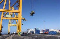 El tráfico de los puertos baja un 10% en agosto pero confirma su senda de recuperación tras el confinamiento