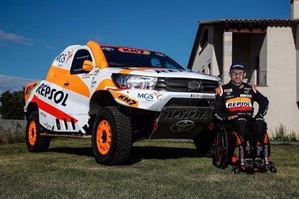 Isidre Esteve ficha por Toyota y aspira a todo en el Dakar 2021