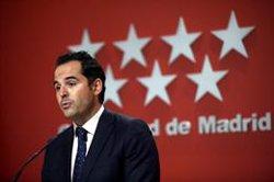 Aguado, partidario del estado de alarma también en Madrid: