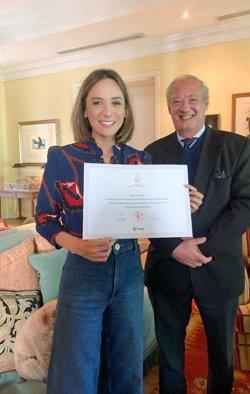 Tamara Falcó, designada nueva embajadora de la Pontificia Scholas Occurrentes en España