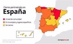 Aragón, Asturias y Euskadi se suman al confinamiento perimetral ya decretado en Navarra y La Rioja