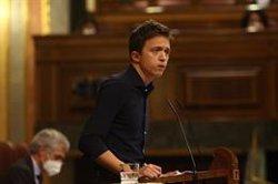 Errejón asegura que su proyecto político sigue avanzando con una