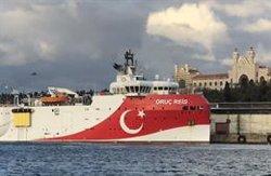 Turquía extiende sus exploraciones en el Mediterráneo Oriental pese a las advertencias griegas